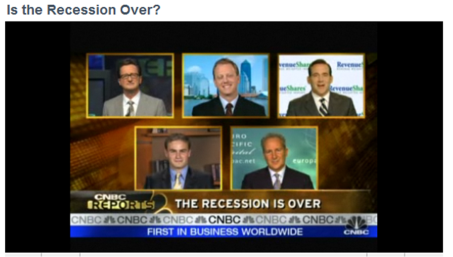 CNBC Recession Panel