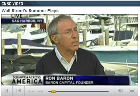 Growth Guru Ron Baron