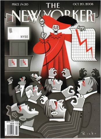 New Yorker Cover 10-08