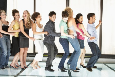 People Dancing at a Discotheque