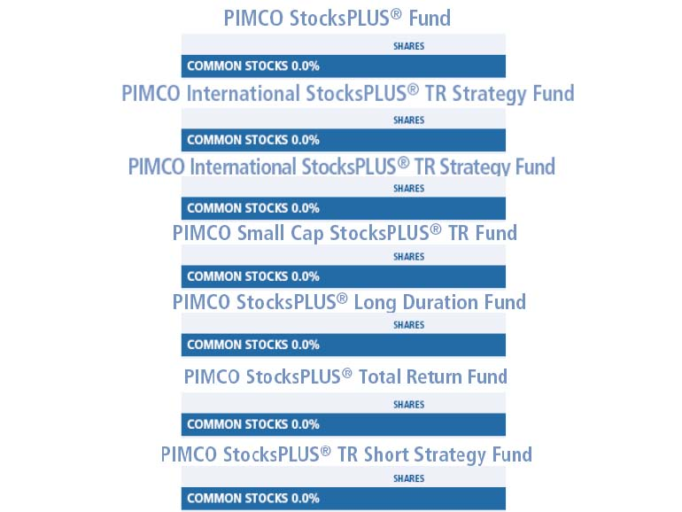 Pimco smoke mirrors stock funds with no stocks for Mirror of equity