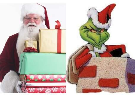 Santa - Grinch