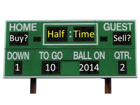 Halftime Scoreboard