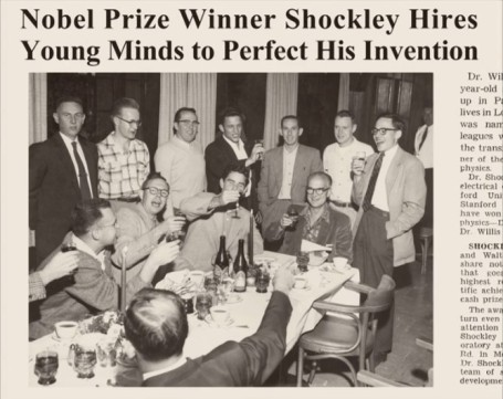 Nobel Shockley Celebration The Traitorous 8